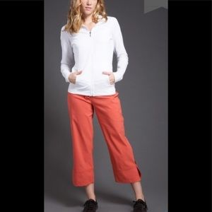 Prana Breathe tie waist Capri pants